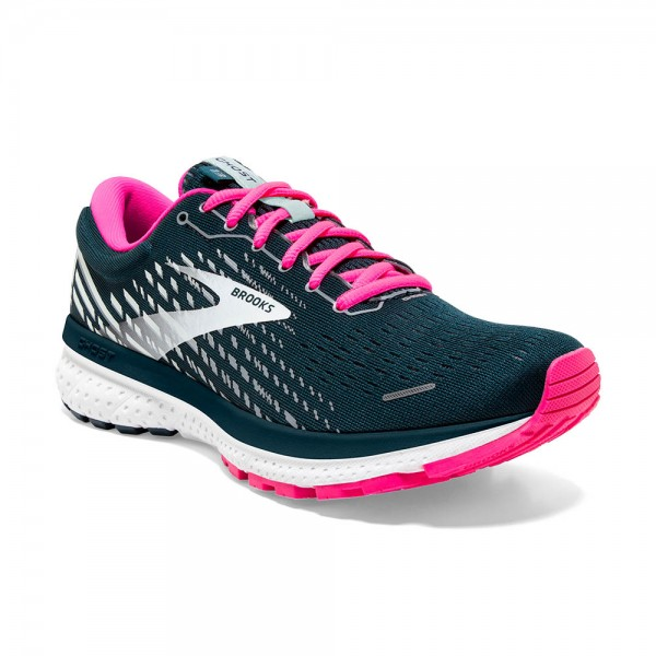 Brooks Ghost 13 Damen Laufschuh Neutral - 120338 1B 391 Farbe Reflective Pond/Pink/Ice