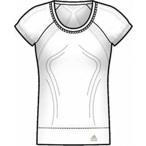 Adidas Women Tech Fit Seamless LC Tee Funktionsshirt -081052