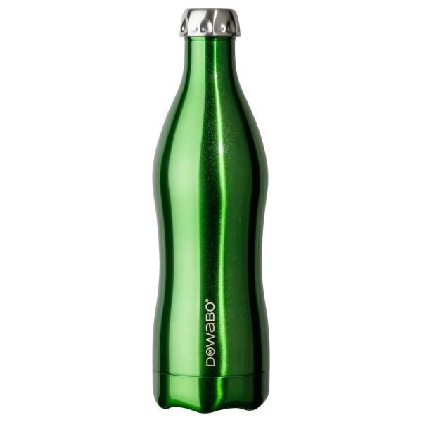 DOWABO Isolierflasche - Edelstahl Flasche - 750 ml Metallic Collection Green - DO-075-met-gre