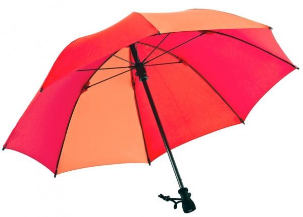 Euroschirm Birdiepal Outdoor - Der stabilste Trekkingschirm der Welt - Regenschirm für extreme Belastungen - orange W208