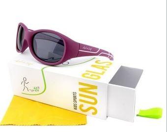 ActiveSol Sonnenbrille - 'Kids @school sports' berry/pink 100% UV Schutz