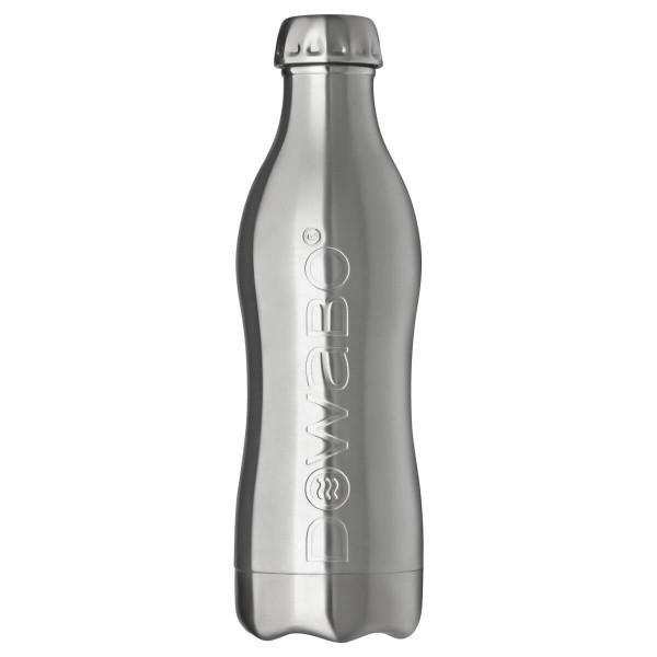 DOWABO einwandige Edelstahl-Flasche - 800 ml Steel - DS-08-pur-ste