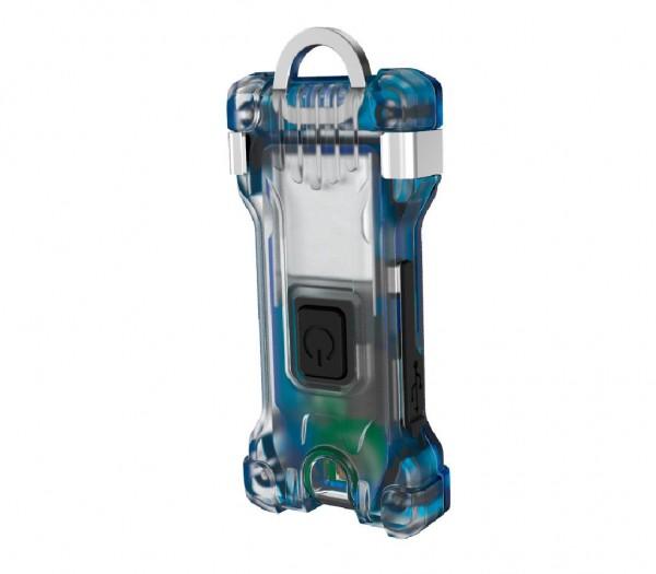 Armytek Zippy Schlüsselanhänger-Taschenlampe (Blue Saphire) - F06001B