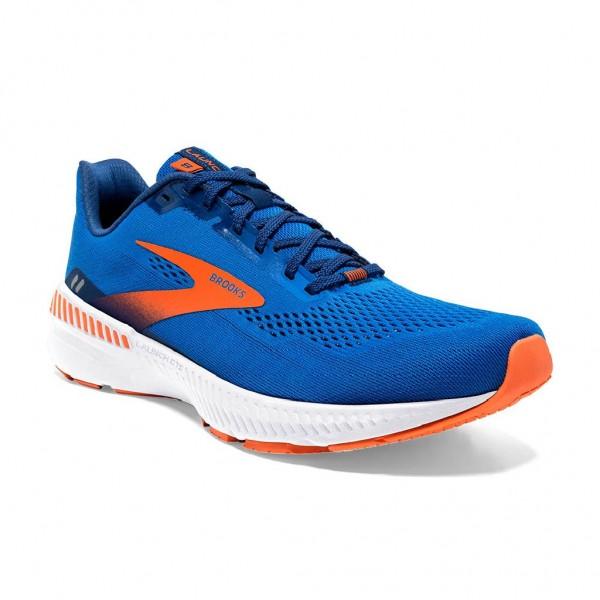 Brooks Launch 8 GTS Herren Laufschuh Stabilität - 110359 2E 463 Farbe Blue/Orange/White