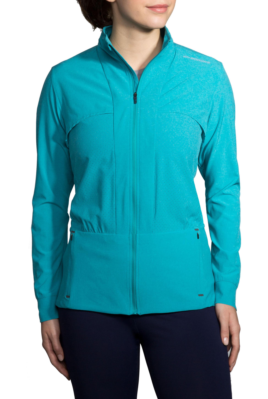 Brooks Damen Laufjacke Fremont Jacket Grün - 221186-491