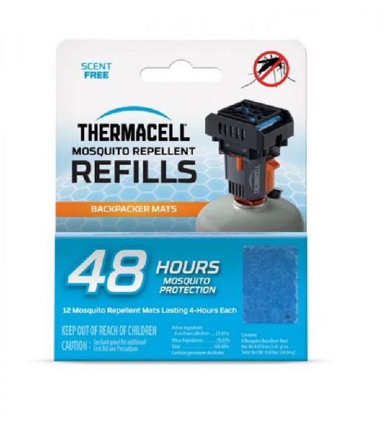 Thermacell M−48 Nachfüllpack, passend  für Thermacell-Gerät Backpacker MR-BP