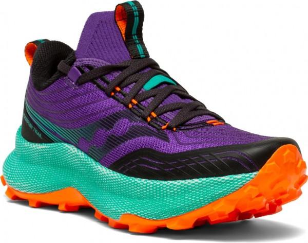 Saucony Endorphin Trail Damen Laufschuh Trail S10647-20 - Farbe Concord/Jade