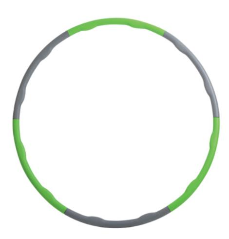 Schildkröt Hula - Hoop Reifen Anthrazit-grün zerlegbar Ø 100 cm