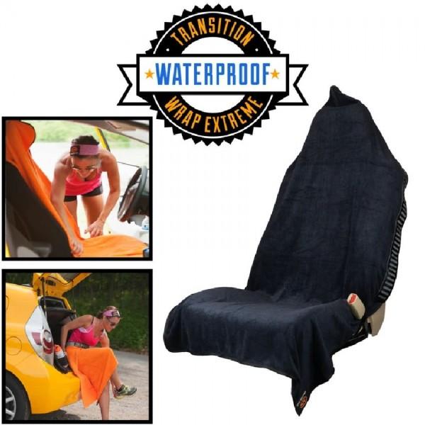 Orange Mud Transition Wrap Extreme - Sporthandtuch Autositzbezug Umziehhilfe wasserdicht - Orange