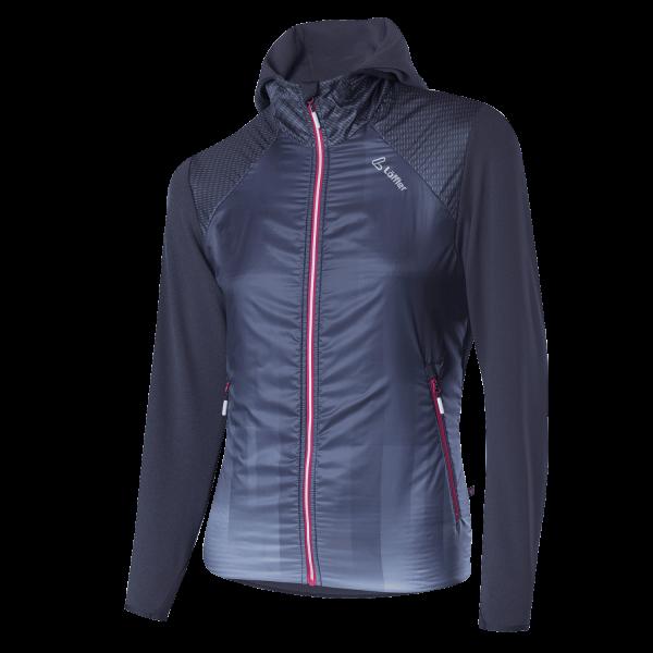 Löffler W Hooded Jacket Speed Primaloft® Next Damen Funktionsjacke - 24162-968 Farbe Graphite
