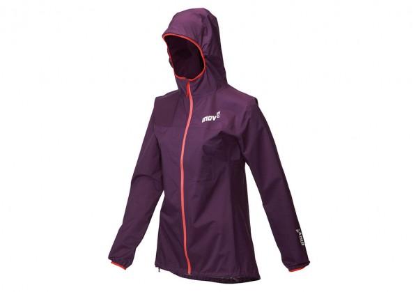 Inov-8 Trailshell Full Zip Damen Laufjacke wasserdicht - Farbe Purple - 000853-PL -01