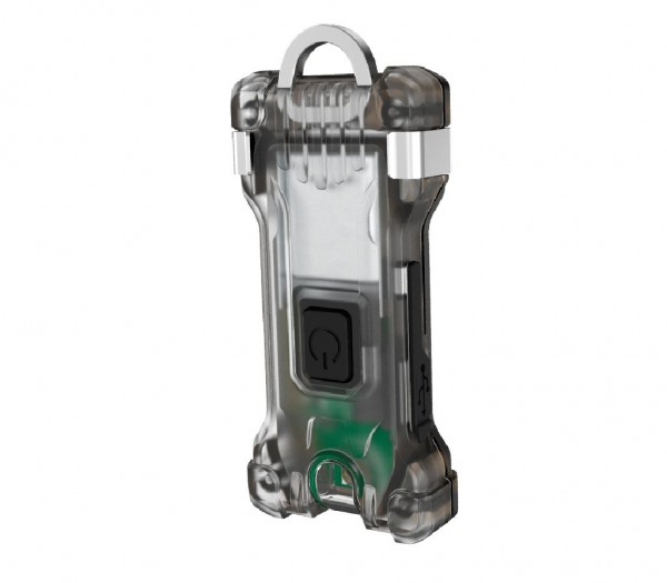 Armytek Zippy Schlüsselanhänger-Taschenlampe (Grey Onyx) - F06001G