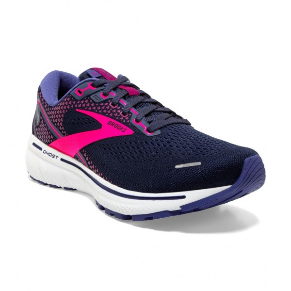 Brooks Ghost 14 Damen Laufschuh Neutral - 120356 1B 531 Peacoat/Pink/White