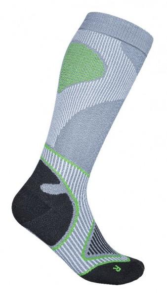 Bauerfeind Outdoor Performance Compression Socks - Herren Wandersocken - Farbe Grau