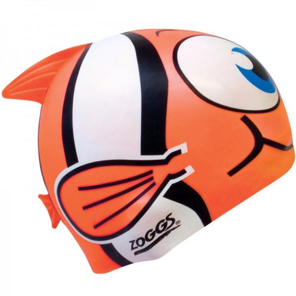 Zoggs Silicone Character Cap Badekappe Orange - 300710