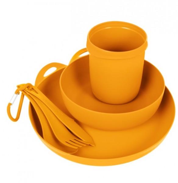 Sea to Summit Camp Geschirr Set Delta Camp Set (Bowl, Plate, Mug, Cutlery) - Orange - ADSETOR