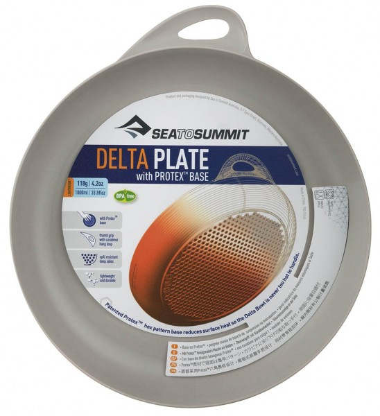 Sea To Summit Delta Plate Campingteller - Grau