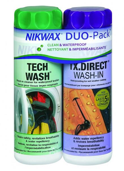 Nikwax Tech wash und TX. Direct Doppelpackung 2x 300 ml       !