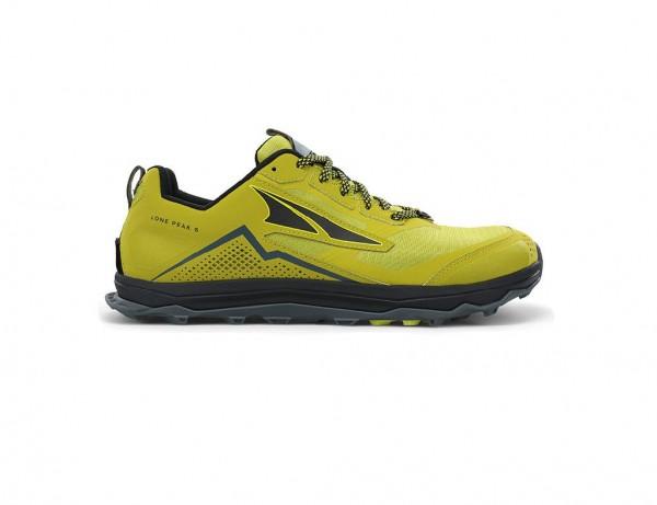 Altra Lone Peak 5 Herren Laufschuh Trail - AL0A4VQE300 - Farbe Lime/Black