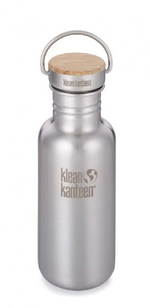 Klean Kanteen Trinkflasche Reflect 532ml/18oz mit Bambus Schraubverschluss - 100788