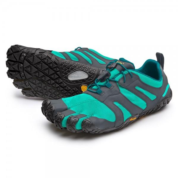 Vibram FiveFingers V-Trail 2.0 Damen Laufschuh 19W-7603 Blau/Grün