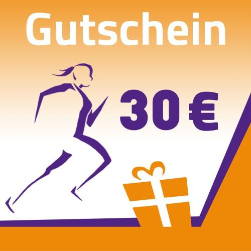Gutschein 30 Euro selbst ausdruckbar