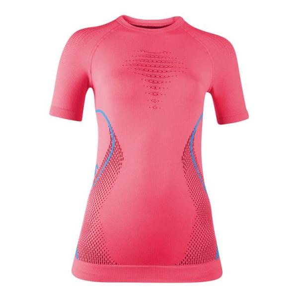 UYN Evolutyon Baselayer Shirts Damen Funktionsunterwäsche SS - U100044-R614 Strawberry/Pink/Turquois
