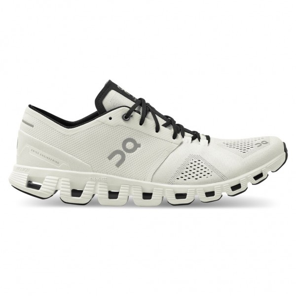On Cloud X Herren Laufschuh Neutral - 40.99707 White/Black