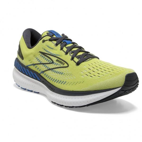 Brooks Glycerin GTS 19 Herren Laufschuh Stabilität 110357 1D 734 Yellow/Navy/Blue