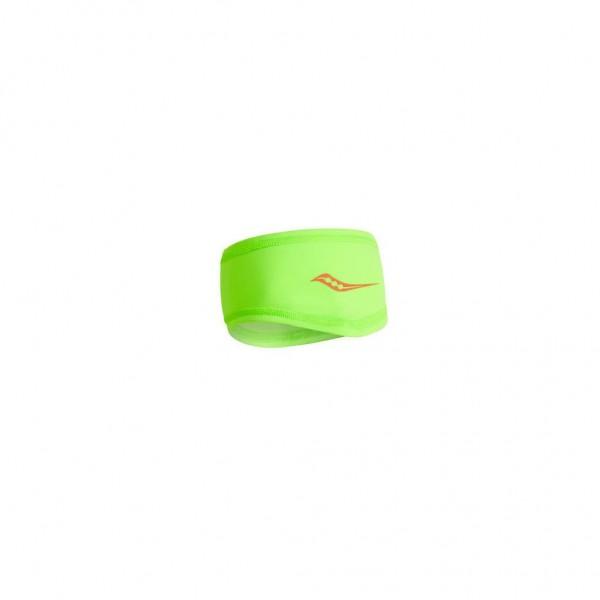 Saucony Solstice Vizi Headband - Stirnband für den Winter - SAU800032-VPS Vizi Slime