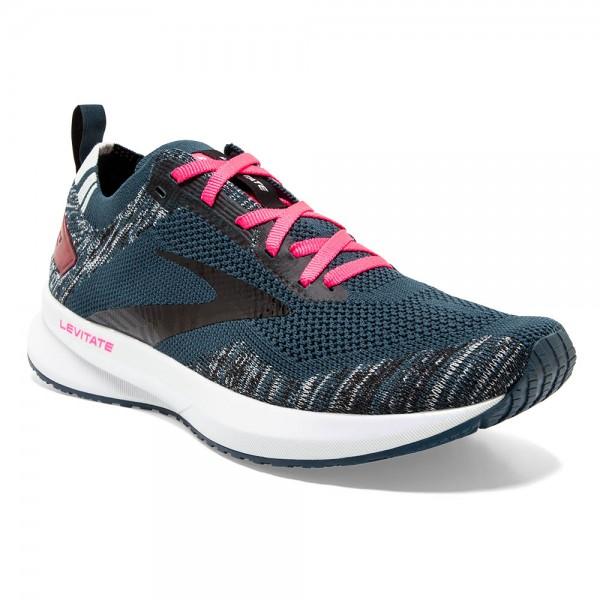 Brooks Levitate 4 Damen Laufschuh Neutral - 120335 1B 419 Navy/Black/Pink
