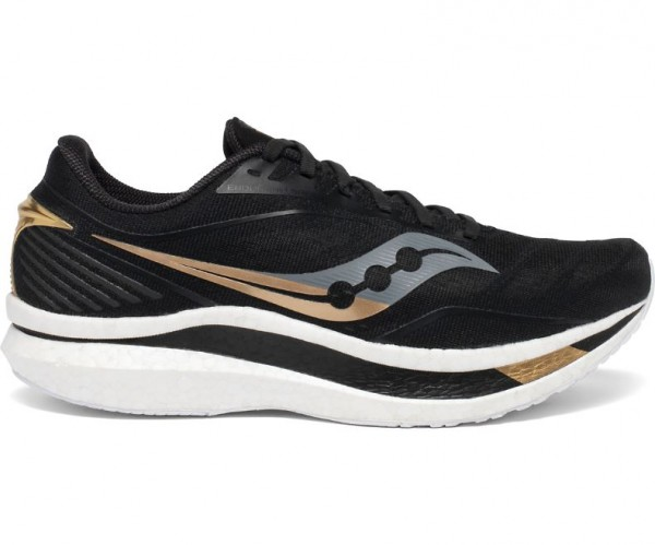 Saucony Endorphin Speed Damen Laufschuh Neutral S10597-40 - Farbe Black/Gold