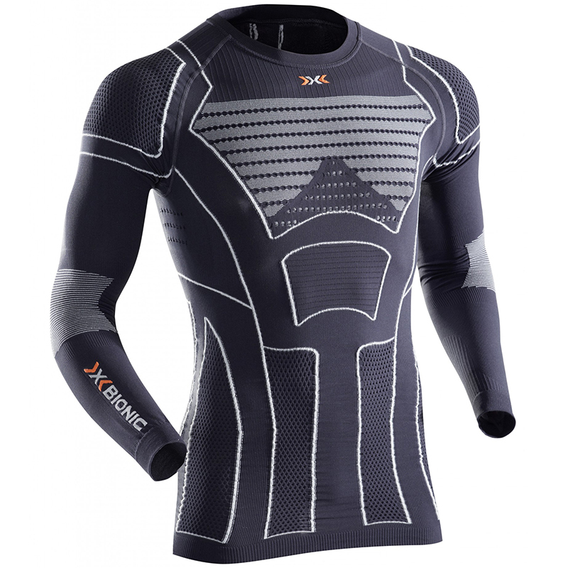 X-Bionic Men Moto Energizer Light Shirt Long - I20290-G087