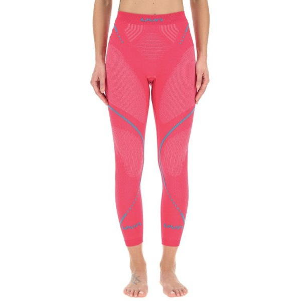 UYN Evolutyon UW Pants Damen Funktionsunterwäsche Lang - U100010 R614 Strawberry/Pink/Turquoise