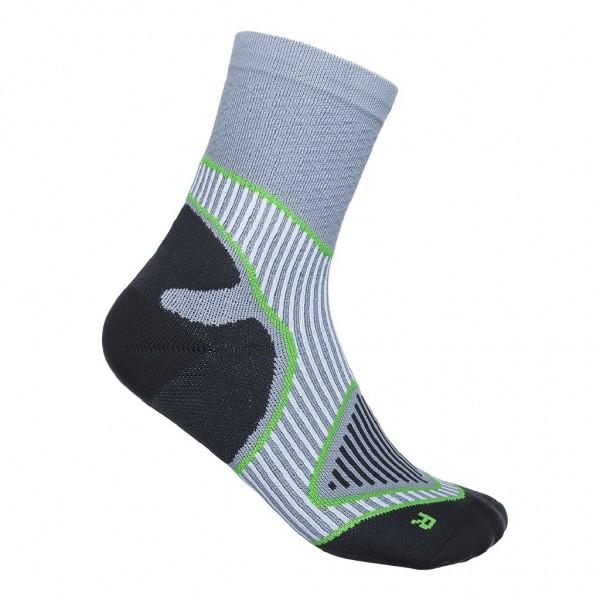 Bauerfeind Outdoor Performance Mid Cut Socks - Herren Trekkingsocken - Farbe Grau