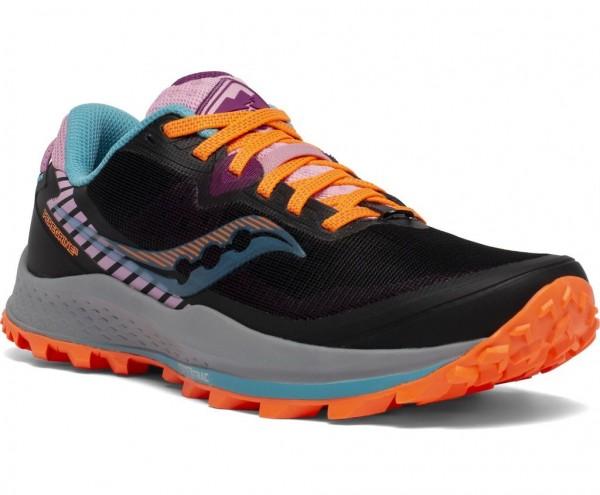 Saucony Peregrine 11 Damen Laufschuh Trail - S10641-25 Farbe Future Black