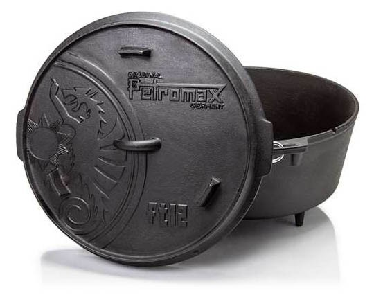 Petromax Feuertopf ft12 mit Standfüßen