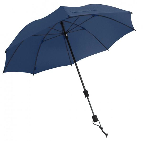 Euroschirm Swing handsfree - Der erste echte handfreie Trekking-Stockschirm - Regenschirm - marineblau W2H6