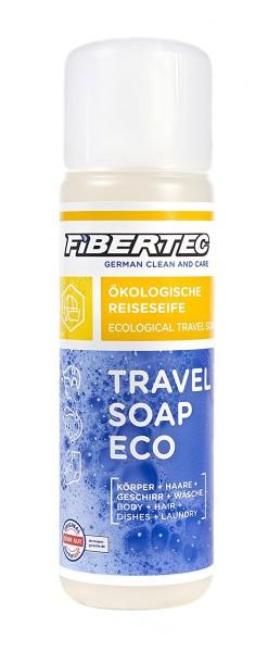 Fibertec Travel Soap Eco Reiseseife, transparent, 250 ml, vegan