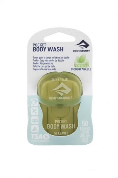 Sea to Summit Trek & Travel Pocket Body Wash 50 Leaf Reinigungsseife