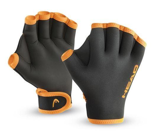 Head Erwachsene Schwimmhandschuhe Swim Glove schwarz orange - 455007