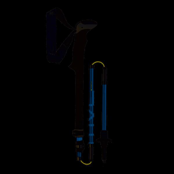 Leki Micro Vario Carbon AS Antishock Trekkingstock - Dunkelblau 6492063