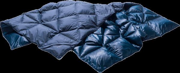 Red Y by Nordisk Kiby Packable Down Travel Blanket Packbare Daunendecke 596-Arctic-Night
