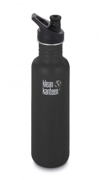 Klean Kanteen 800ml/27oz Trinkflasche Classic mit Sport Cap 3.0 - 10078