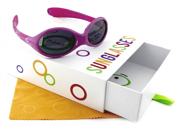 ActiveSol Baby-Sonnenbrille (1-2 Jahre) Mädchen - Flower Gr. L