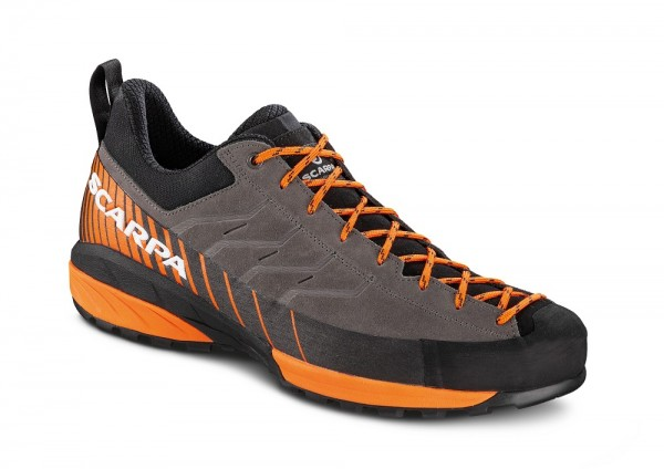 Scarpa Mescalito Herren Zustiegsschuh - 72101-M-0067 - Farbe Titanium/Orange