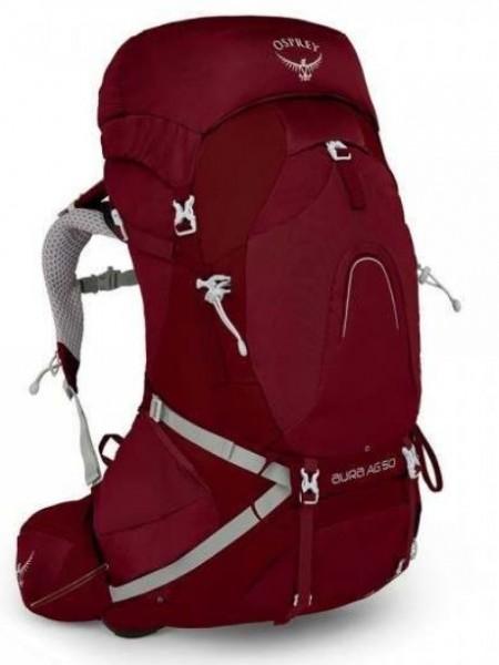 Osprey Aura AG 50 Damen Trekkingrucksack Gamma Red Rot Outdoor WM