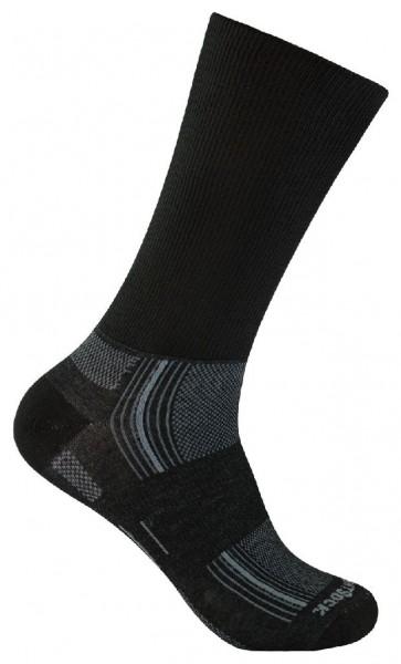 Wrightsock Stride Crew - Doppellagige Anti-Blasen-Socke - 826 Black