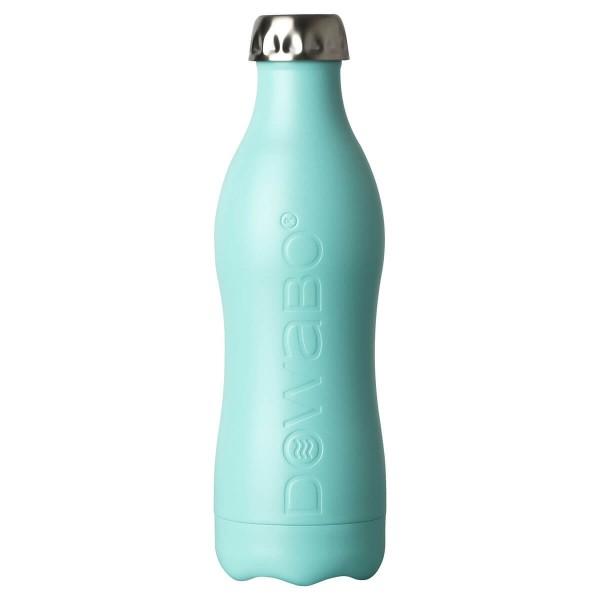 DOWABO einwandige Edelstahl-Flasche - 800 ml Swimming Pool - DS-08-coc-swi