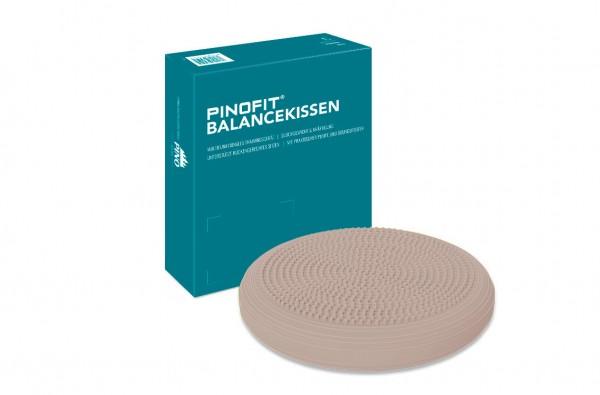 Pinofit Balancekissen Warm Grey inkl. Ballpumpe - Durchmesser ca. 33 cm - 43143